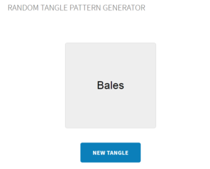 New Feature: Random Tangle Pattern Generator – Tangle List